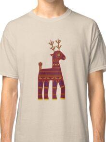 Geometric Reindeer  Classic T-Shirt