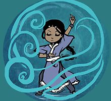 Katara - Waterbending by blurryobjects