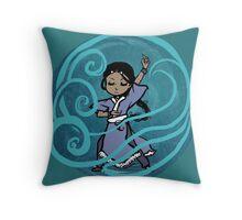 Katara - Waterbending Throw Pillow