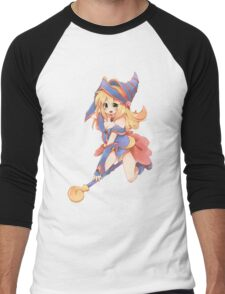 Yugioh Black Magician Girl Men's Baseball ¾ T-Shirt