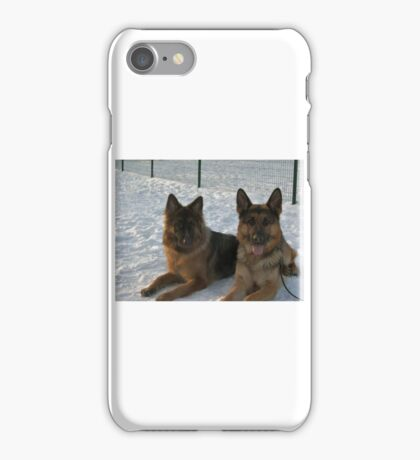 GS group in snow iPhone Case/Skin