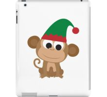 Christmas Elf Monkey iPad Case/Skin