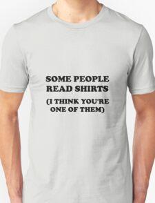 Read Shirts Unisex T-Shirt