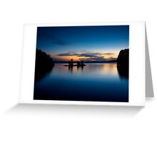 Burntside Lake Greeting Card