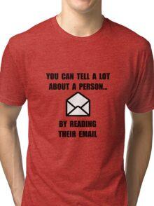 Read Their Email Tri-blend T-Shirt