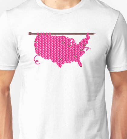 pussyhat USA Unisex T-Shirt