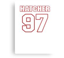 NFL Player Jason Hatcher ninetyseven 97 Metal Print