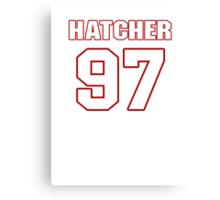 NFL Player Jason Hatcher ninetyseven 97 Canvas Print