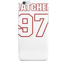 NFL Player Jason Hatcher ninetyseven 97 iPhone Case/Skin
