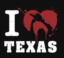 I Heart Texas (White) Kids Clothes
