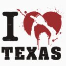 I Heart Texas by Gingerbredmanny