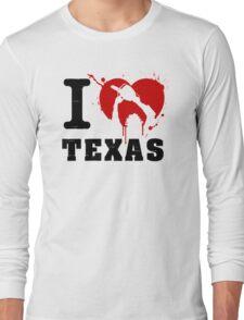 I Heart Texas Long Sleeve T-Shirt