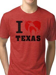 I Heart Texas Tri-blend T-Shirt