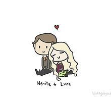 Neville & Luna by blurryobjects