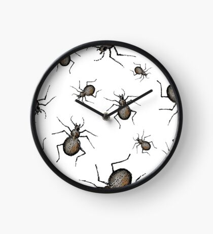 Beetles. Clock