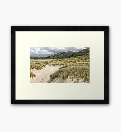 Sand Dunes of Maghera Beach  - Ireland Framed Print