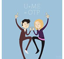 U+ME=OTP 10xROSE by nickelcurry