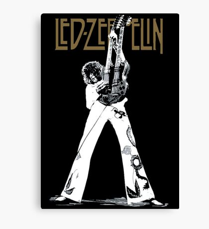 led zeppelin - jimmy page Canvas Print