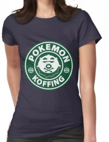 Pokemon Koffing Womens Fitted T-Shirt