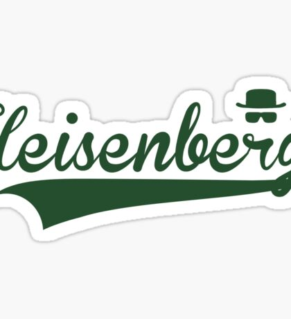 Heisenberg (Breaking Bad) Sticker