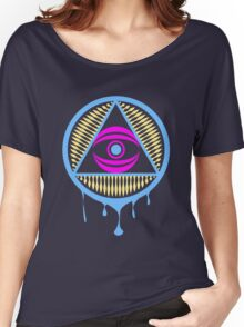 Trippy Illuminati Women's Relaxed Fit T-Shirt
