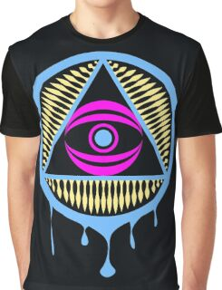 Trippy Illuminati Graphic T-Shirt