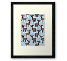 Reindeer 2 Framed Print
