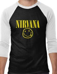 Nirvana Men's Baseball ¾ T-Shirt