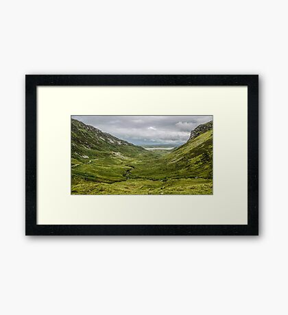 Granny Pass - County Donegal, Ireland Framed Print