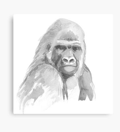 Gorilla. Canvas Print