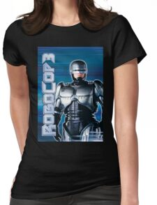 Robocop 3 Poster Womens Fitted T-Shirt