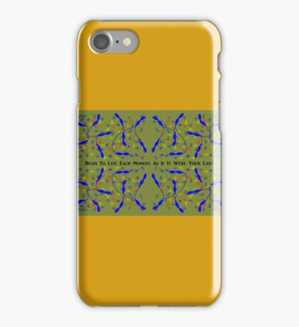 New Year Resolution iPhone Case/Skin
