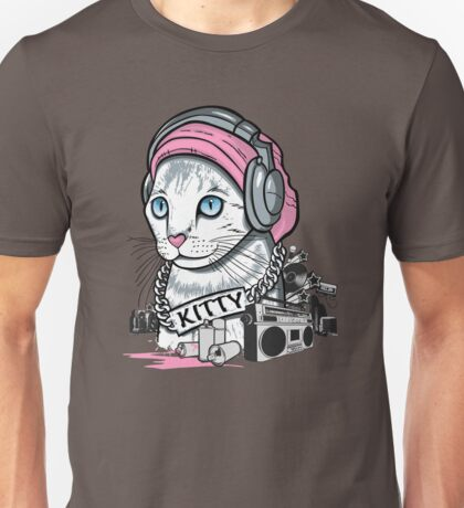 Kitty Tagger Unisex T-Shirt