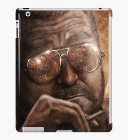 Walter- Jesus Reflection-Lebowski iPad Case/Skin