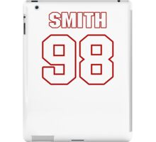 NFL Player Chris Smith ninetyeight 98 iPad Case/Skin