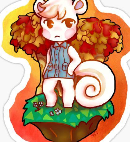 Marshal Animal Crossing New Leaf Sticker Sticker
