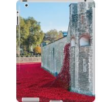 Cascading Poppies, Tower of London iPad Case/Skin