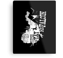Yippee Ki Yay, Mr. Falcon Metal Print