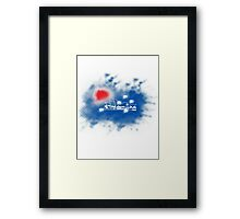 Colours of Australia Framed Print