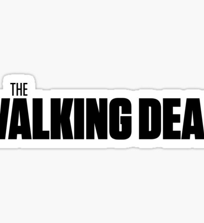 THE WALKING DEAD (LOGO) Sticker