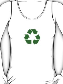 Recycling T-Shirt - I Love Recycling Logo Top T-Shirt