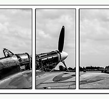 Hawker Hurricane Tryptych by Chris Thaxter
