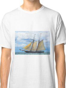 Amistad Under Sail Classic T-Shirt
