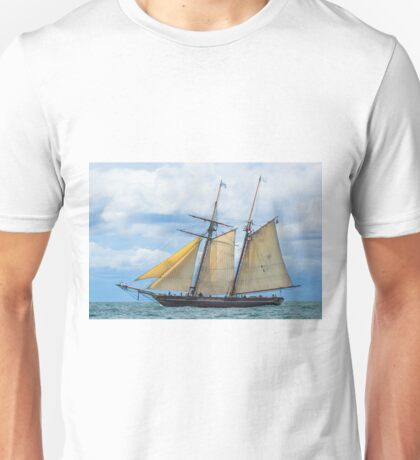 Amistad Under Sail Unisex T-Shirt