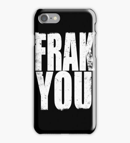 FRACK YOU (WHITE) iPhone Case/Skin