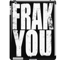 FRACK YOU (WHITE) iPad Case/Skin