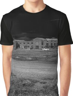 Pilgrim Psychiatric Center - Abounded Building | West Brentwood, New York Graphic T-Shirt