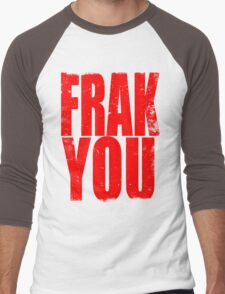FRAK YOU (RED) Men's Baseball ¾ T-Shirt