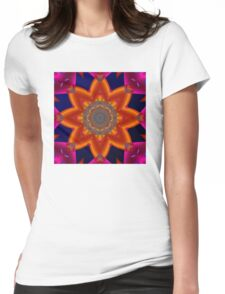 Abstract 0215a Womens Fitted T-Shirt