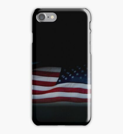 Flag Of The United States Of America | Fire Island, New York iPhone Case/Skin